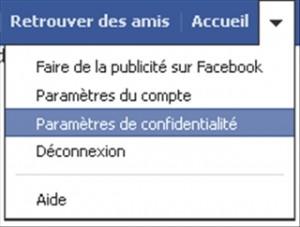 Comment changer de profil sur facebook ?